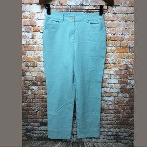 St. John Sports Pants sz 4 Stretch Straight #K613